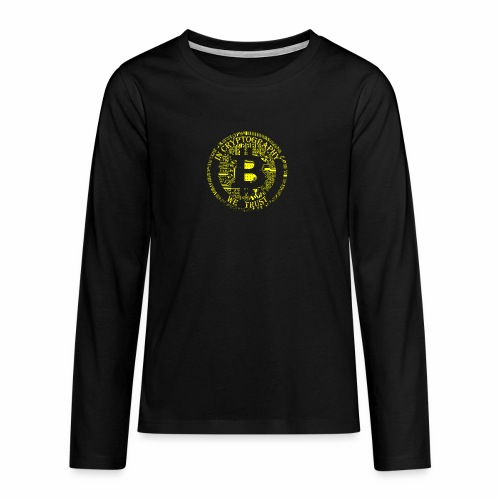 In cryptography we trust 2 - Teenagers' Premium Longsleeve Shirt