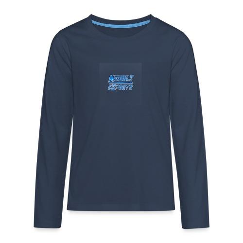 Module Text Logo - Teenagers' Premium Longsleeve Shirt