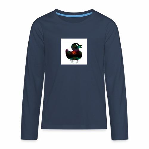 canard - T-shirt manches longues Premium Ado