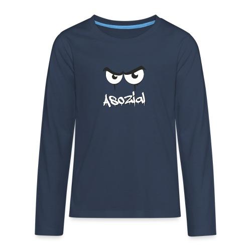 Asozial - Teenager Premium Langarmshirt