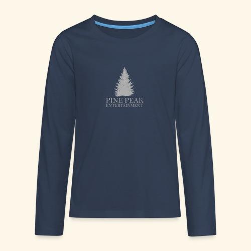 Pine Peak Entertainment Grey - Teenager Premium shirt met lange mouwen