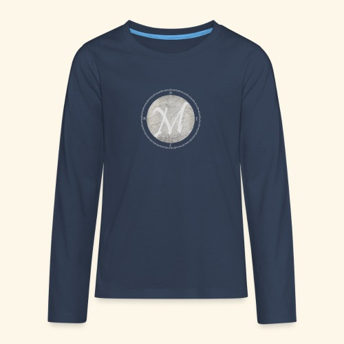 Montis logo - Långärmad premium T-shirt tonåring