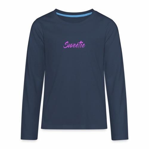Sweetie - Teenagers' Premium Longsleeve Shirt
