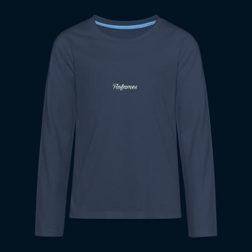 camicia di flofames - Maglietta Premium a manica lunga per teenager