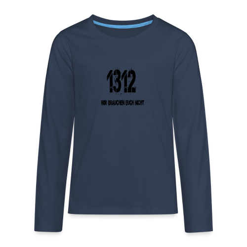 1312 BOSS - Teenager Premium Langarmshirt