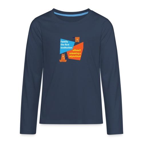 Duna Família - Premium langermet T-skjorte for tenåringer