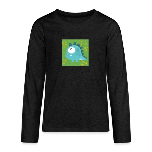 Dino - Teenager Premium Langarmshirt