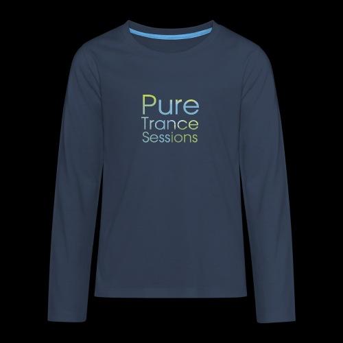 pts text hd - Teenagers' Premium Longsleeve Shirt