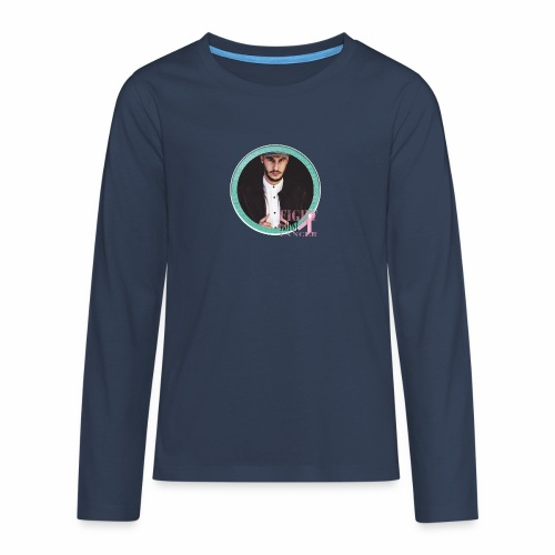 Fight against Cancer - Teenager Premium Langarmshirt