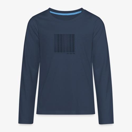 google - Koszulka Premium z długim rękawem dla nastolatków