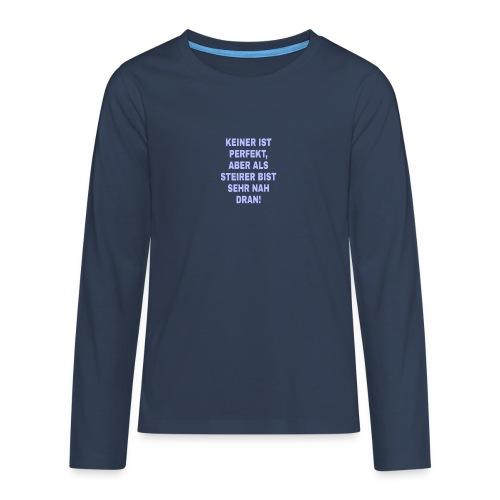 PicsArt 02 25 12 34 09 - Teenager Premium Langarmshirt