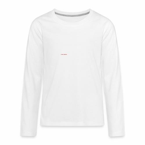 100 TIMES BRICKS retrò - Maglietta Premium a manica lunga per teenager