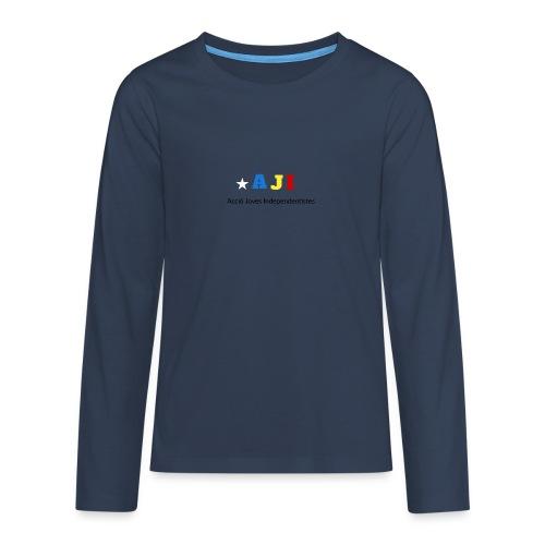 merchindising AJI - Camiseta de manga larga premium adolescente