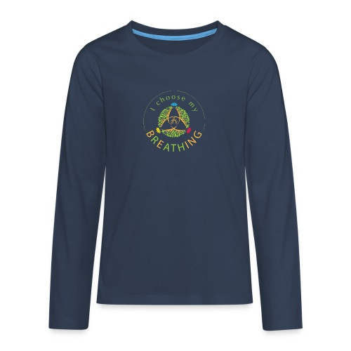 i choose my breathing V1 - T-shirt manches longues Premium Ado