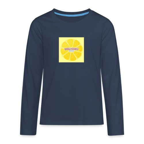 zitronetextur - Teenager Premium Langarmshirt