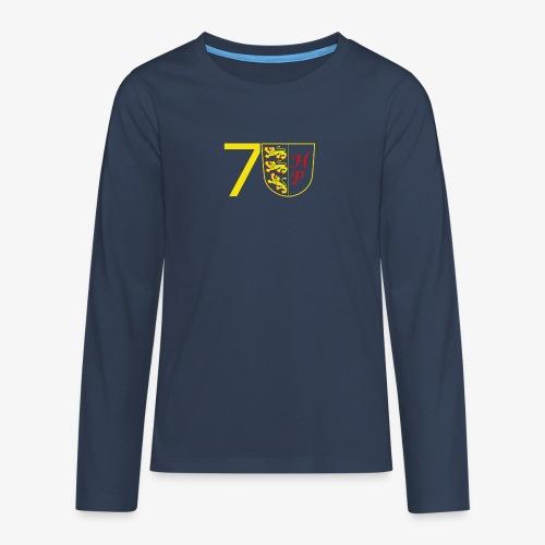 70 Herbert - Teenager Premium Langarmshirt