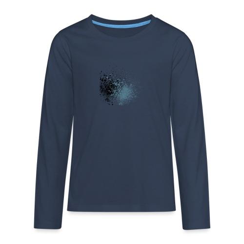 färger - Långärmad premium T-shirt tonåring