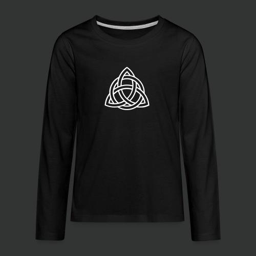 Celtic Knot — Celtic Circle - Teenagers' Premium Longsleeve Shirt