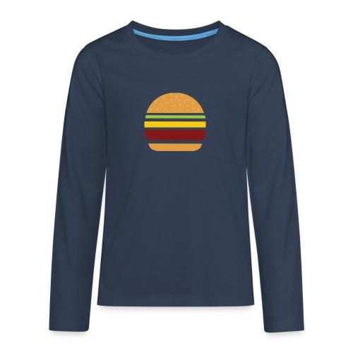 Logo Burger Panhamburger - T-shirt manches longues Premium Ado