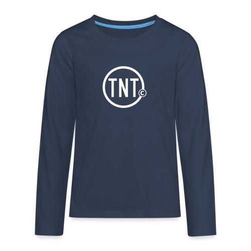TNT-circle - Teenager Premium shirt met lange mouwen