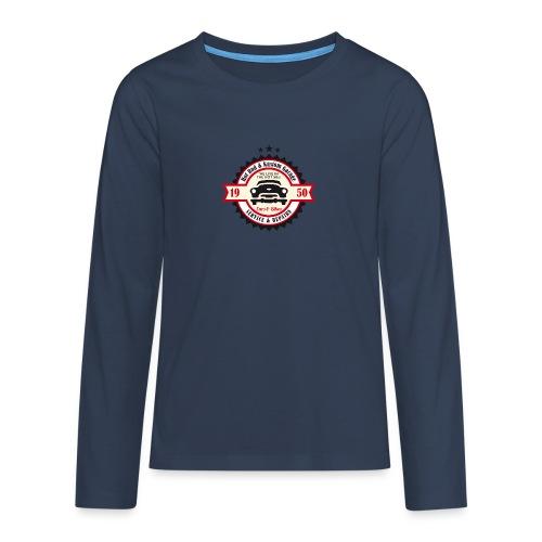 Hot Rod and Kustom Garage - Teenager Premium Langarmshirt