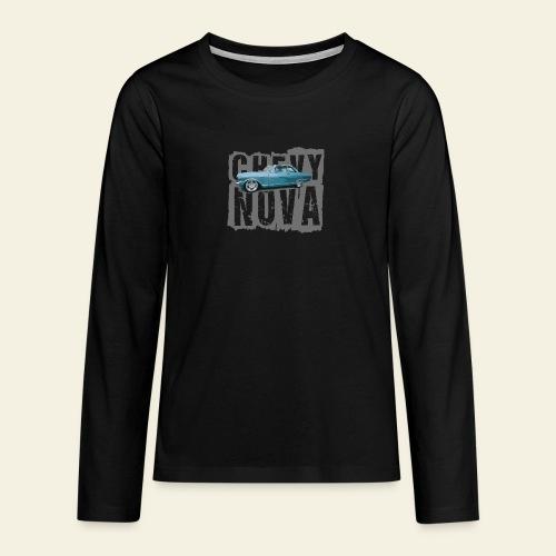 nova - Teenager premium T-shirt med lange ærmer