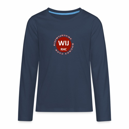RIJSWIJKSCHE HOCKEY CLUB - Teenager Premium shirt met lange mouwen