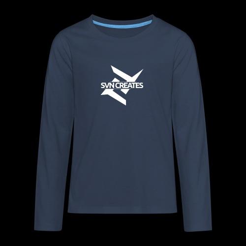 SVN Shirt logo 1 png - Teenager Premium shirt met lange mouwen