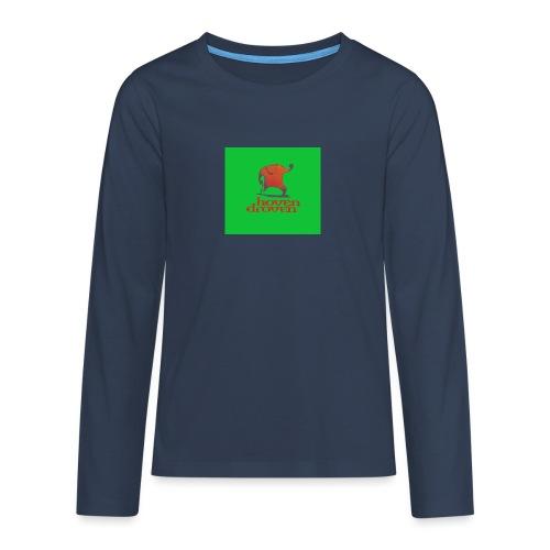 Slentbjenn Knapp - Teenagers' Premium Longsleeve Shirt