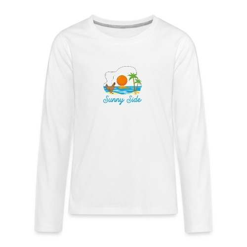 Sunny side - Maglietta Premium a manica lunga per teenager