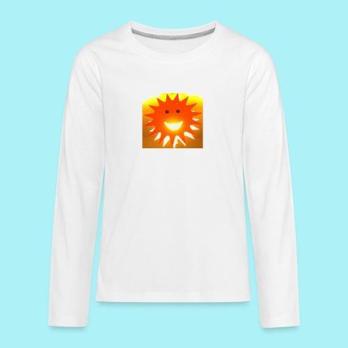 Soleil Souriant - T-shirt manches longues Premium Ado