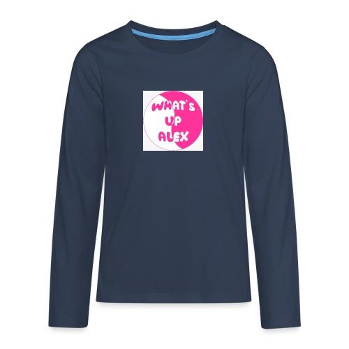 45F8EAAD 36CB 40CD 91B7 2698E1179F96 - Teenagers' Premium Longsleeve Shirt