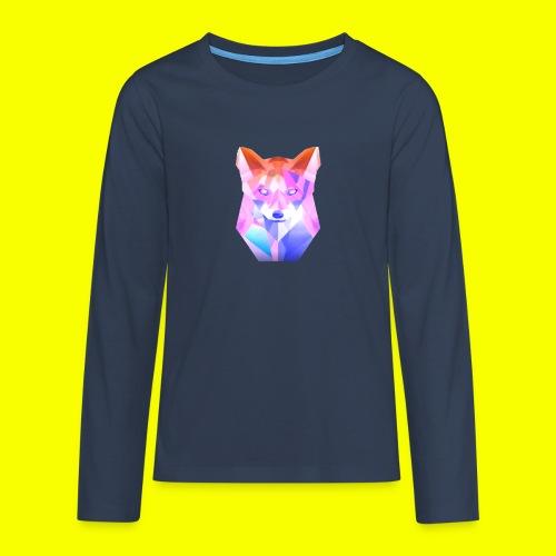 Nemirion Logo - Teenager Premium shirt met lange mouwen
