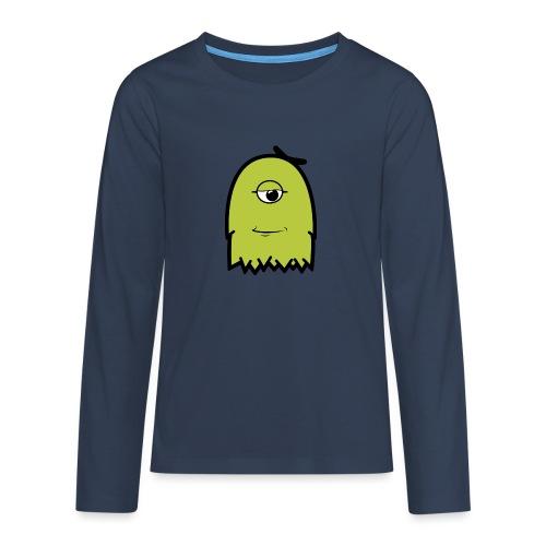 Furly Green - Teenager Premium Langarmshirt