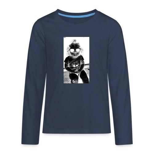 D3 - Teenagers' Premium Longsleeve Shirt