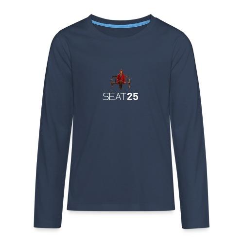 Faye on Logo - Teenagers' Premium Longsleeve Shirt