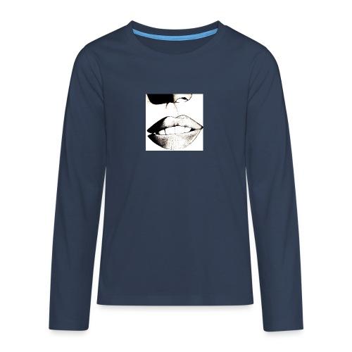 2-jpeg - Camiseta de manga larga premium adolescente