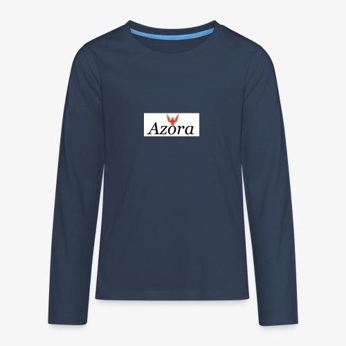 Azora Movement - Teenager Premium Langarmshirt