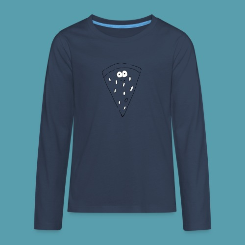 vesimelooni - Teinien premium pitkähihainen t-paita