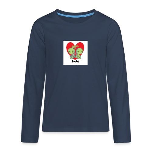 bhnvdloove-png - Camiseta de manga larga premium adolescente