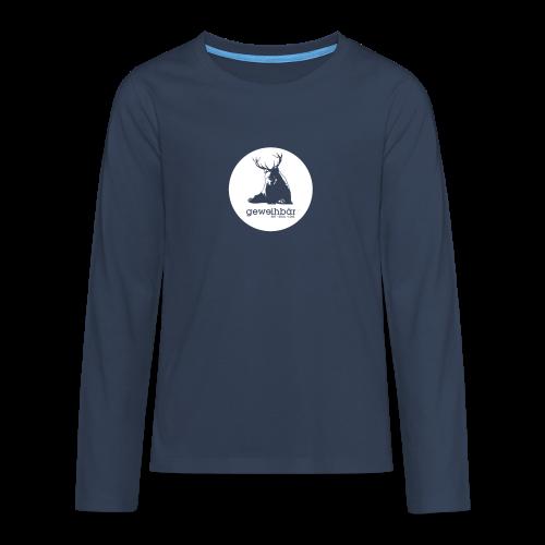 geweihbär - Teenager Premium Langarmshirt
