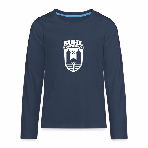 Suhl Mopedsport S50 / S51 Logo No.2 - Teenagers' Premium Longsleeve Shirt