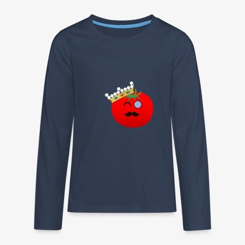 Tomatbaråonin - Långärmad premium T-shirt tonåring