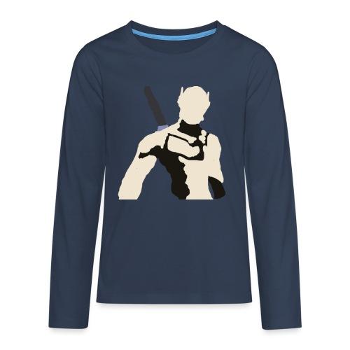 Genji - Koszulka Premium z długim rękawem dla nastolatków