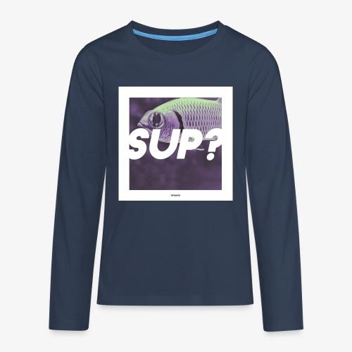 SUP #01 - Teenager Premium Langarmshirt