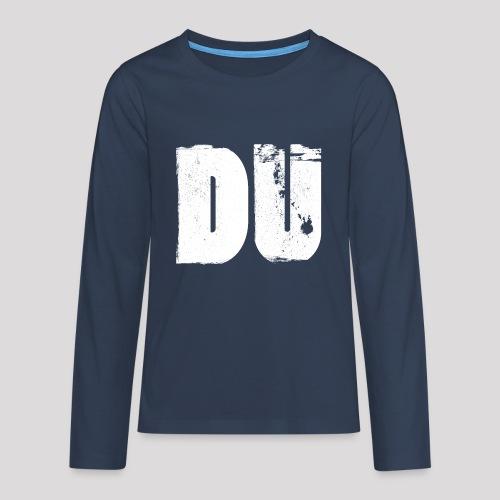 DU - Teenager Premium Langarmshirt