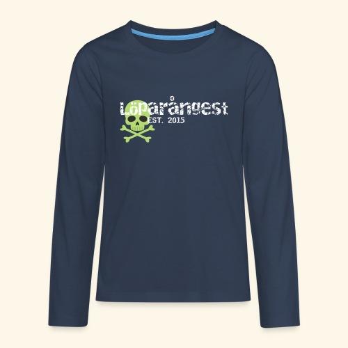 loeparangest - Långärmad premium T-shirt tonåring