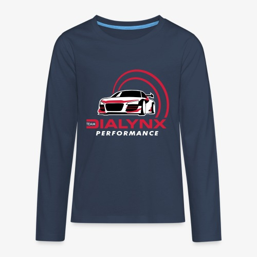 Dialynx Performance Race Team Dark Range - Teenagers' Premium Longsleeve Shirt