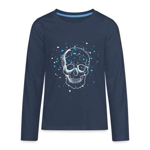 Crâne - T-shirt manches longues Premium Ado