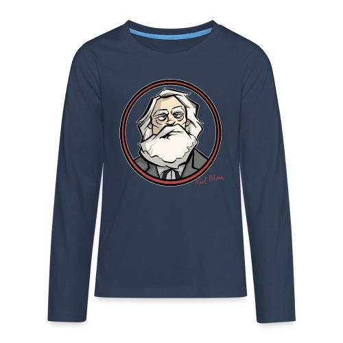 Karl Marx - Teenager Premium Langarmshirt